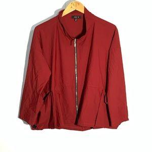 Jason zip up shirt jacket